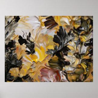 Pintura abstracta (detalle) #827 impresiones