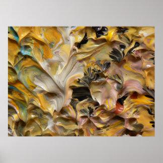 Pintura abstracta (detalle) #829_B Impresiones