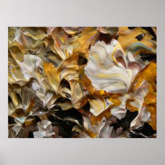 Pintura abstracta (detalle) #830_B Impresiones