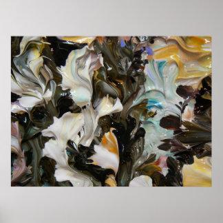 Pintura abstracta (detalle) #835 impresiones