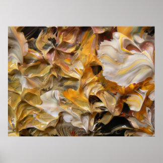 Pintura abstracta (detalle) #844 impresiones