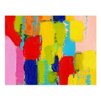 Pintura abstracta fantástica de Kris Taylor Postales