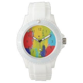Pintura abstracta fantástica de Kris Taylor Reloj De Mano