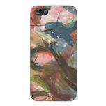 pintura abstracta iPhone 5 cárcasas