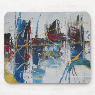 Pintura abstracta por s.b. Eazle Tapetes De Raton
