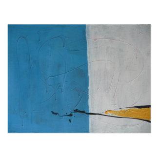 Pintura abstracta por s.b. Eazle Tarjetas Postales