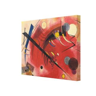 Pintura abstracta que hierve a fuego lento interna impresión en lienzo