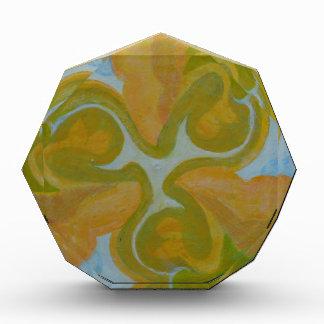 Pintura abstracta redonda de la mandala 8