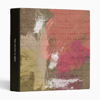 Pintura abstracta Splats en colores del otoño