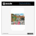 Pintura al óleo de la calle de la coronación calcomanía para iPod touch 4G
