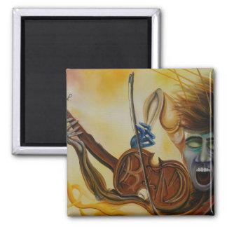 Pintura al óleo de la canción de Kims Iman De Frigorífico
