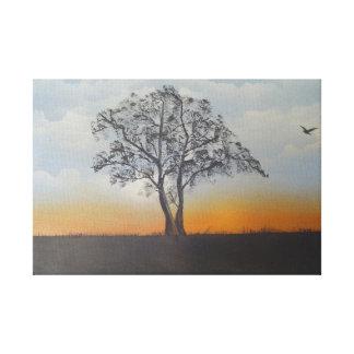 Pintura al óleo por el bbrunelle impresion de lienzo