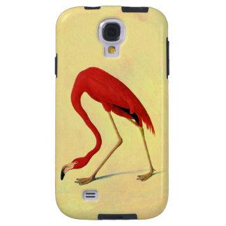 Pintura americana del flamenco de Audubon Funda Galaxy S4