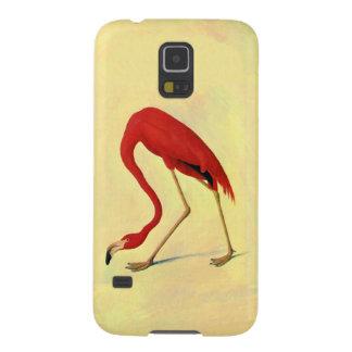 Pintura americana del flamenco de Audubon Funda Galaxy S5
