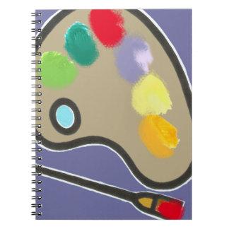 pintura - artes visuales cuaderno