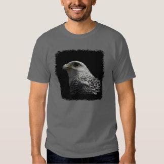 Pintura ártica del retrato de Gyrfalcon Camisas