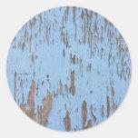 Pintura azul clara de la peladura pegatina