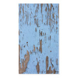 Pintura azul clara de la peladura tarjeta de visita