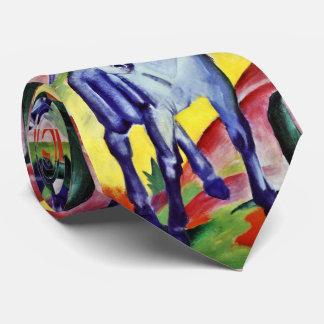 Pintura azul de la bella arte del vintage del corbatas personalizadas