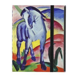 Pintura azul de la bella arte del vintage del