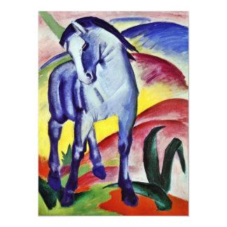 Pintura azul de la bella arte del vintage del anuncios personalizados
