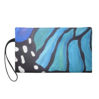 Pintura azul de la mariposa del extracto del morph