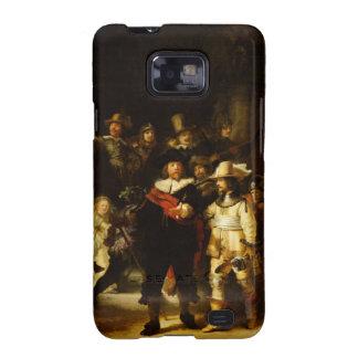 Pintura barroca del guardia nocturna de Rembrandt Samsung Galaxy S2 Carcasa
