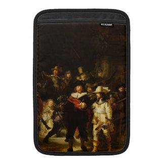 Pintura barroca del guardia nocturna de Rembrandt Funda MacBook