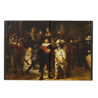 Pintura barroca del guardia nocturna de Rembrandt