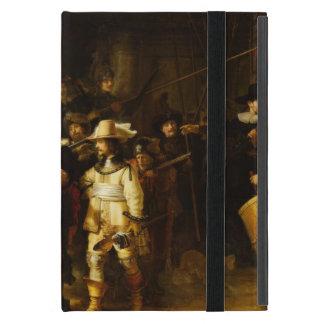 Pintura barroca del guardia nocturna de Rembrandt iPad Mini Carcasas