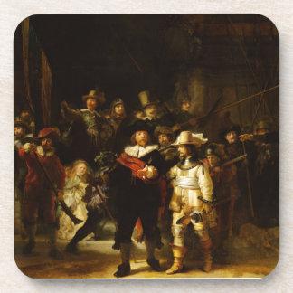 Pintura barroca del guardia nocturna de Rembrandt Posavaso
