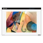 """Pintura """"Bassline """" de la música de jazz 38,1cm Portátil Calcomanías"""