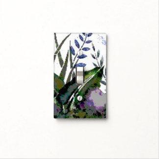 Pintura botánica abstracta cubiertas para interruptor