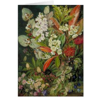 Pintura botánica del norte de Marianne Tarjeta De Felicitación