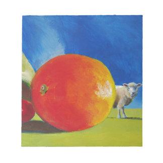Pintura brillante de la fruta blocs