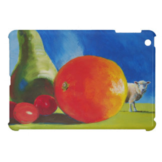 Pintura brillante de la fruta iPad mini carcasas