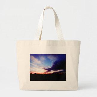 Pintura cambiante bolsa de mano