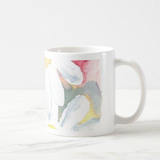 pintura caprichosa del arte de la acuarela de 2 fl tazas