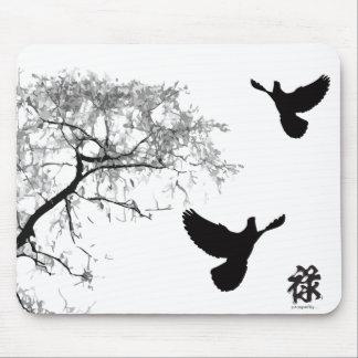 Pintura china - cojín de ratón de la prosperidad alfombrillas de raton