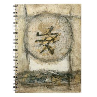 Pintura china de la tranquilidad de Mauro Libro De Apuntes