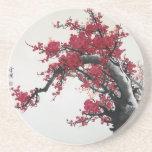 Pintura china - práctico de costa de la flor de ce posavaso para bebida