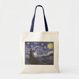 Pintura clásica de la noche estrellada de Van Gogh