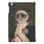 Pintura clásica del gato gruñón iPad mini protector