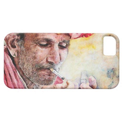 Pintura clásica fresca del retrato de la acuarela  iPhone 5 cobertura