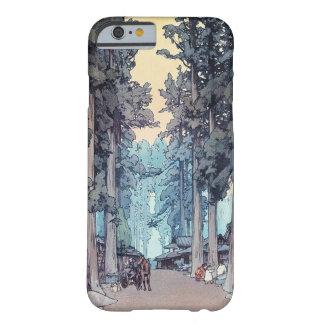 Pintura clásica japonesa fresca del bosque de funda barely there iPhone 6