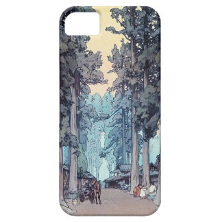 Pintura clásica japonesa fresca del bosque de funda para iPhone SE/5/5s