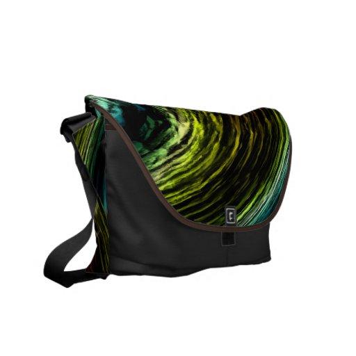 Pintura colorida de Digitaces - las bolsas de mens Bolsas De Mensajería
