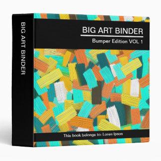 """Pintura colorida grande del arte 049 (el 1.5in) carpeta 1 1/2"""""""