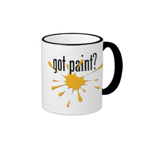 ¿pintura conseguida? tazas de café