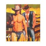 Pintura:  Corral del vaquero Libreta Para Notas